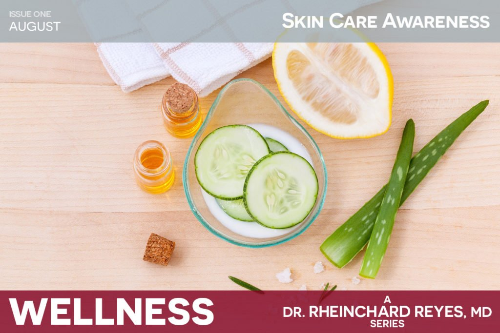 August Issue 1 Skin Care Awareness
